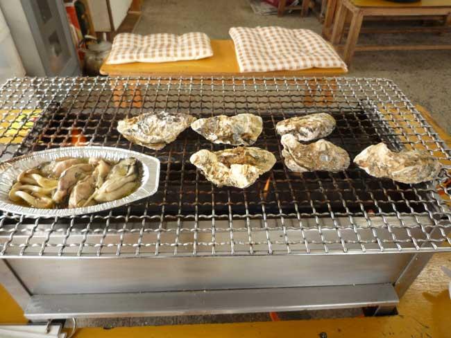 ひろちゃん 焼き牡蠣