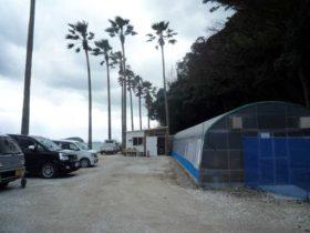 深江漁港の牡蠣小屋 糸海・いとしー