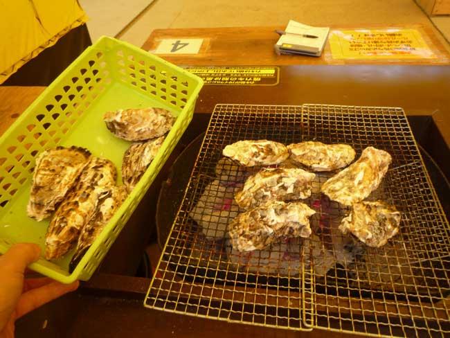 のぶりん 焼き牡蠣
