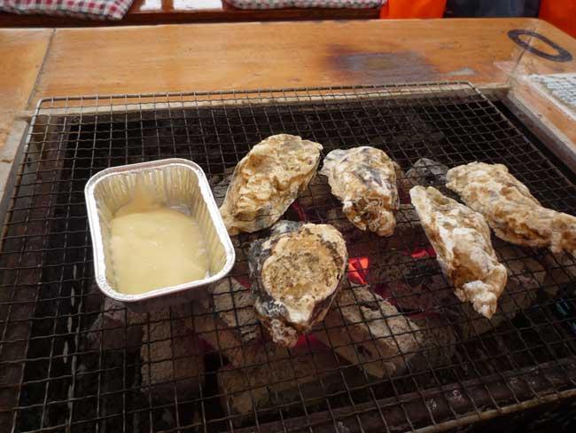 大栄丸 岐志漁港の牡蠣小屋