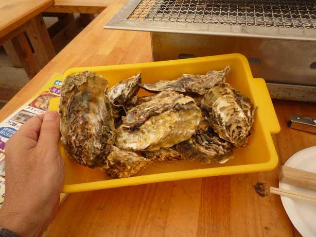 豊漁丸 船越漁港の牡蠣小屋