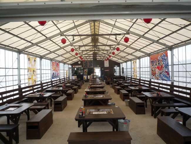 豊久丸 岐志漁港の牡蠣小屋