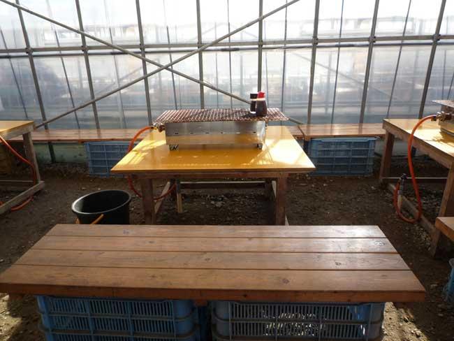 伸栄丸(佐々木) 福吉漁港の牡蠣小屋